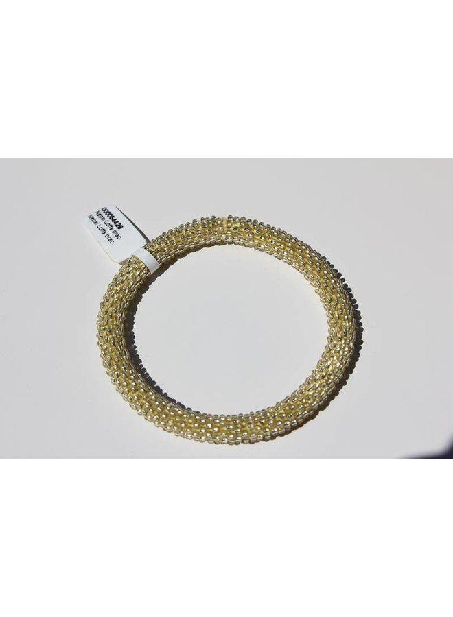 Loffs Nepal Bracelet light yellow
