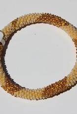 Loffs Loffs Nepal Bracelet white, gold & yellow