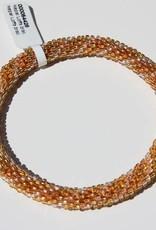 Loffs Loffs Nepal Bracelet gold & white stripes