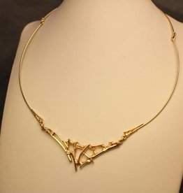 14k design collier/spang