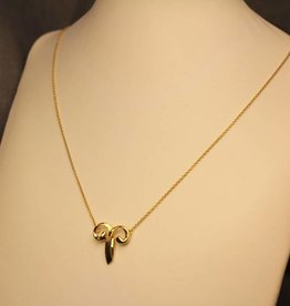 Vintage 18 carat gold Tiffany&Co Paloma Picasso necklace