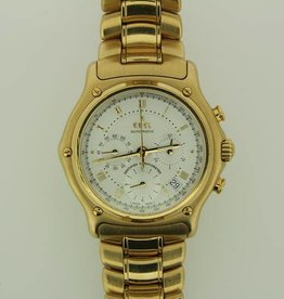 Ebel 1911 chronograph automatic 18K geelgoud