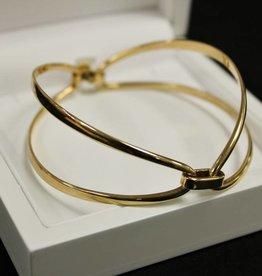 14 carat gold bangle/bracelet by Hans Hansen