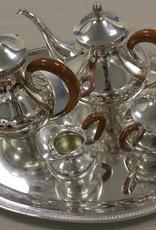 Silver tableware set Brakmyn et Fils S.A. Brussels 1954-1964