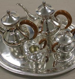 Vintage silver tableware set 1954-1964 Brussels