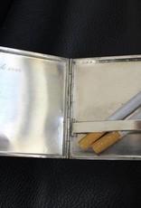 Silver sigarette case 1930's-'40s (Norwegian)