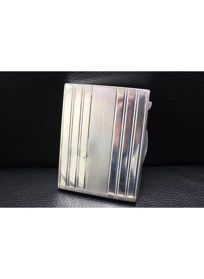 Zilveren sigaretten doosje Hongaars