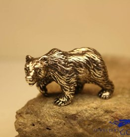 Silver miniature bear