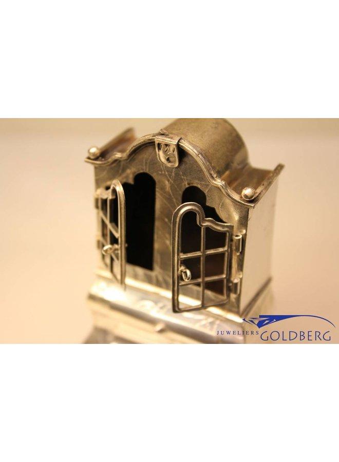Zilveren miniatuur kast Lutz& Weiss