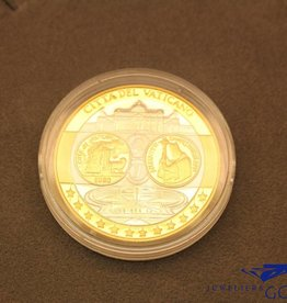 "Silver round ""The Vatican: the miracle of faith"""