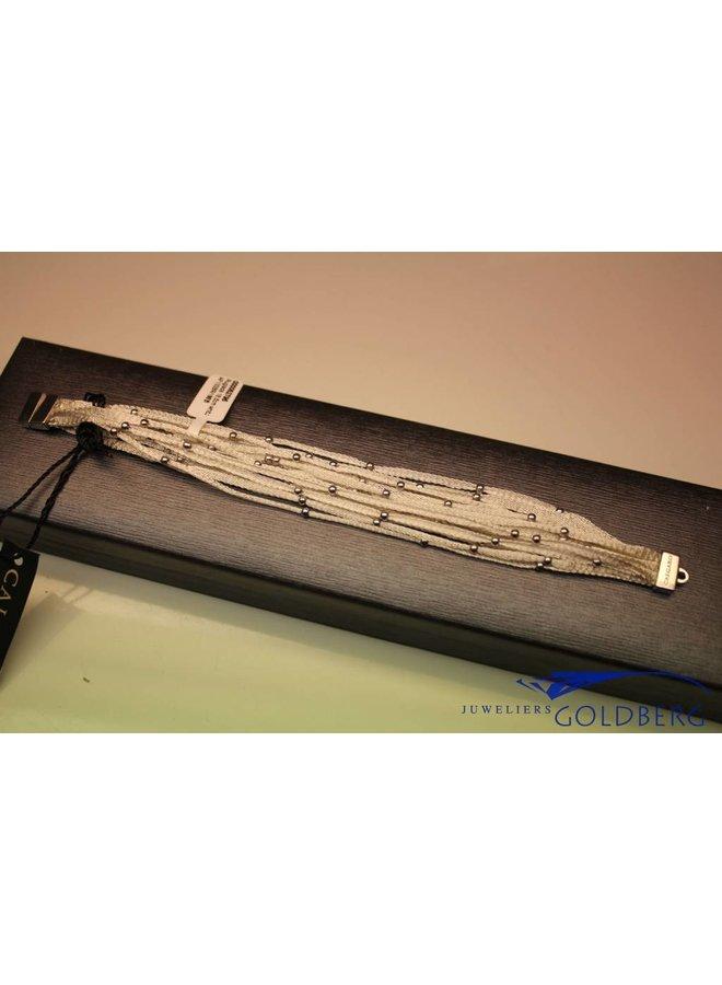 Calgaro armband wit geweven