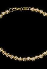 Sanjoya Italiaans armbandje verguld zilver, Sanjoya