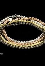 Sanjoya Italian gold-plated silver bracelet
