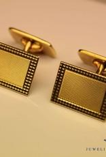 14 carat gold modern cufflinks