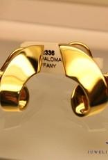 Vintage Paloma Picasso 18k gouden oorbellen
