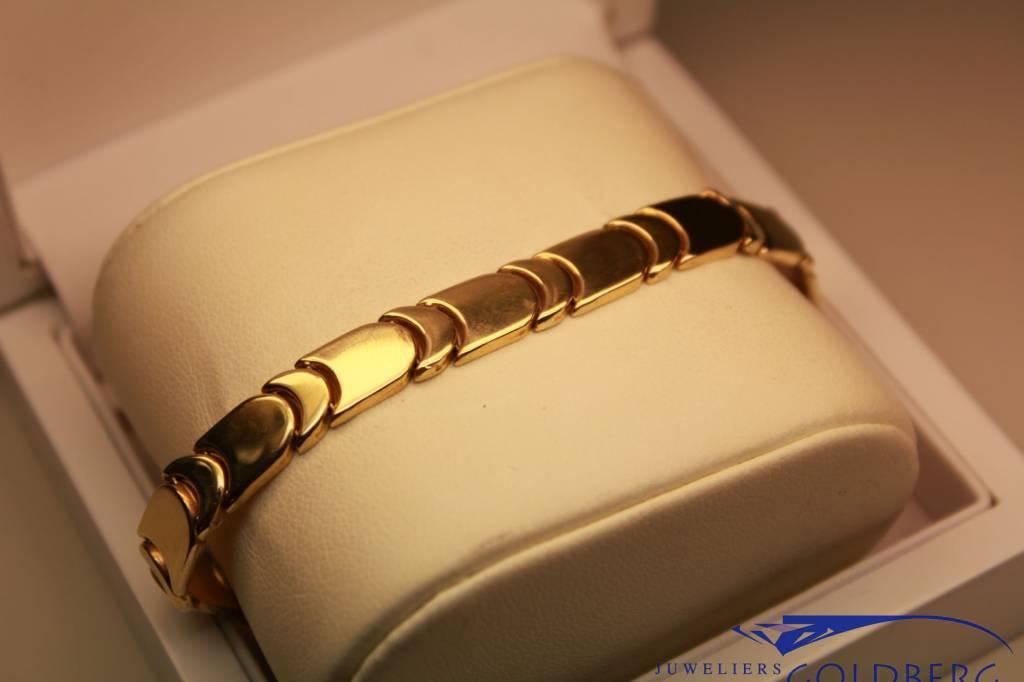 14 carat yellow gold bracelet