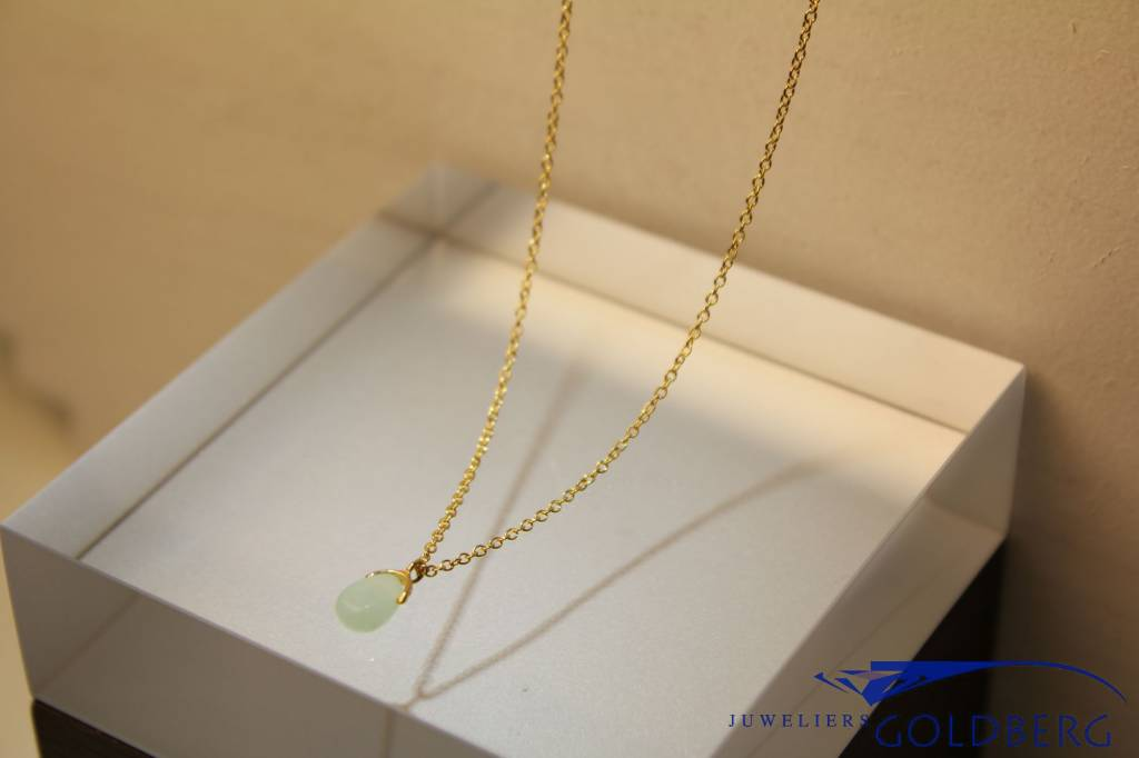 MAS Jewelz MAS necklace amazonite gold plated silver