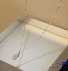 MAS Jewelz MAS necklace blue qwartz silver