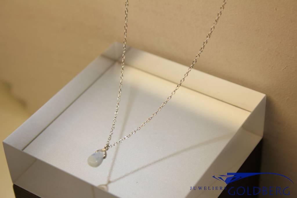 MAS Jewelz MAS necklace blue qwartz silver