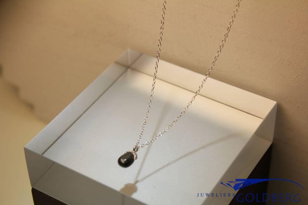 MAS Jewelz MAS collier hematiet zilver