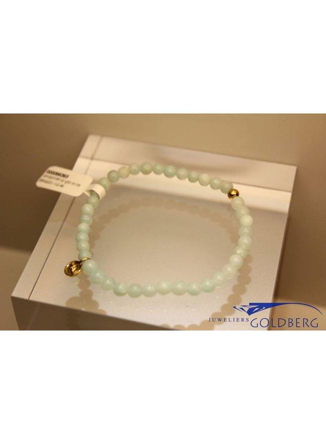 MAS bracelet amazonite gold model 1 M
