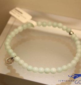 MAS Jewelz MAS bracelet amazonite silver model 1 M