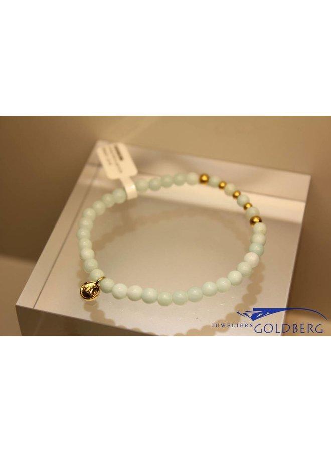 MAS bracelet amazonite gold model 2 M