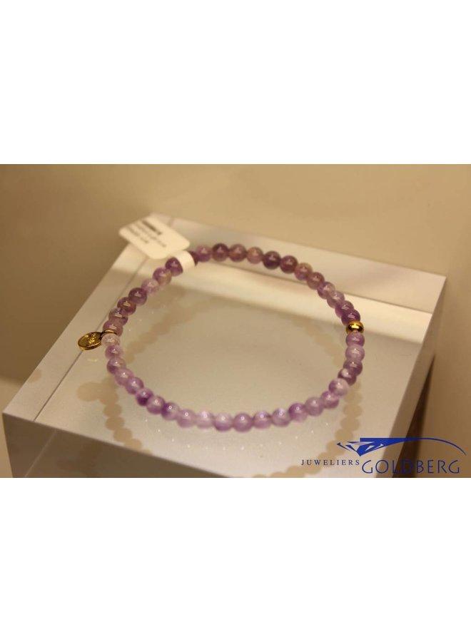 MAS bracelet amethyst gold model 1 M