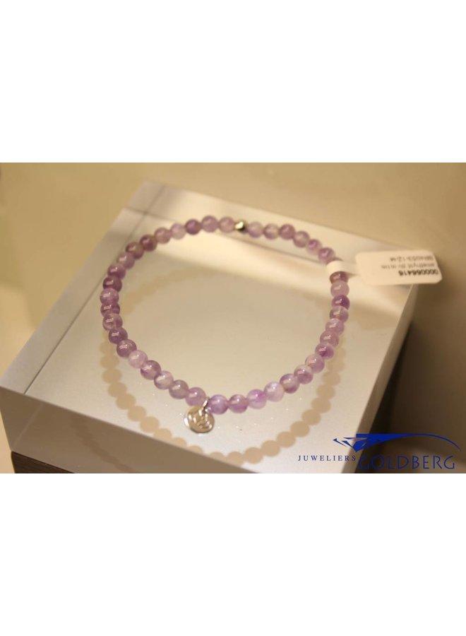 MAS bracelet amethyst silver model 1 M