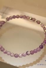 MAS Jewelz MAS bracelet amethyst silver model 2 M