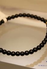 MAS Jewelz MAS armbandje blackstone goud model 1 M