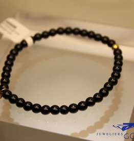 MAS Jewelz MAS bracelet blackstone gold model 1 M