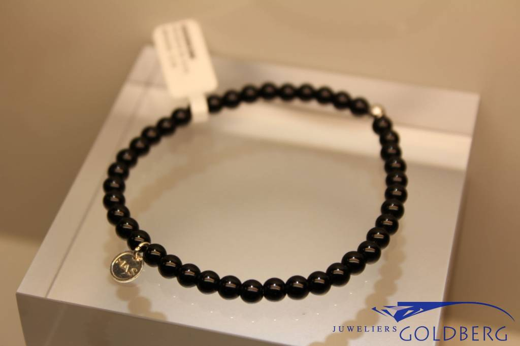 MAS Jewelz MAS bracelet blackstone silver model 1 M