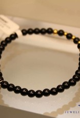 MAS Jewelz MAS bracelet blackstone gold model 2 M