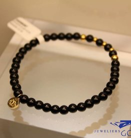 MAS Jewelz MAS bracelet blackstone gold model 2 M