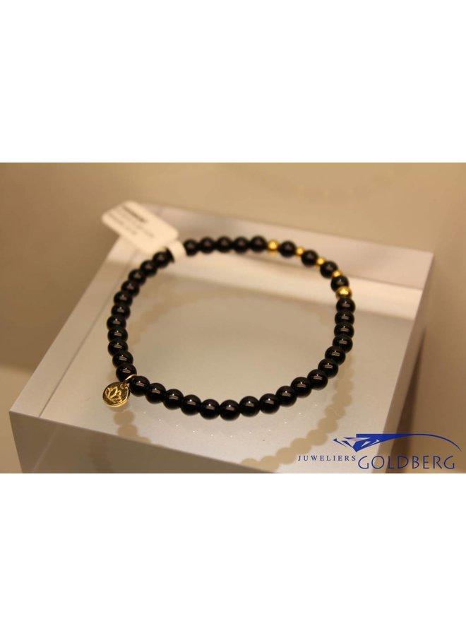 MAS bracelet blackstone gold model 2 M
