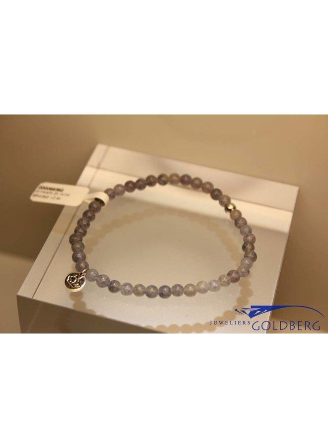 MAS bracelet blue quartz silver model 1 M