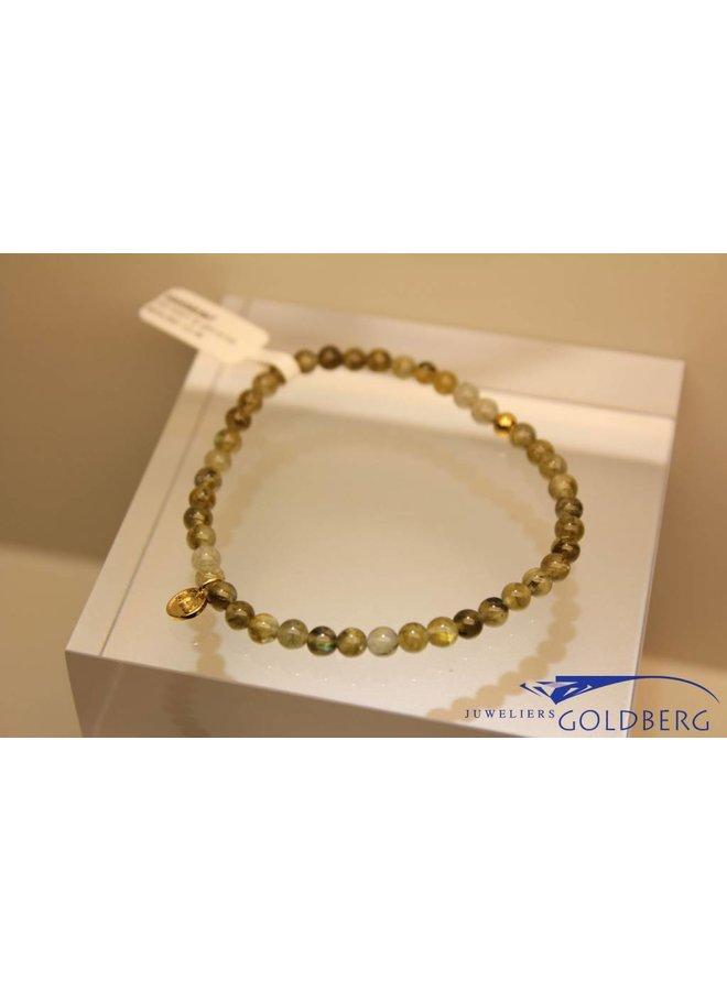 MAS bracelet labradorite gold model 1 M
