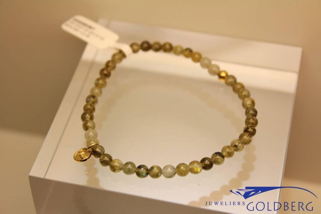 MAS Jewelz MAS armbandje labradoriet goud model 1 M