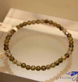 MAS Jewelz MAS armbandje labradoriet zilver model 1 M