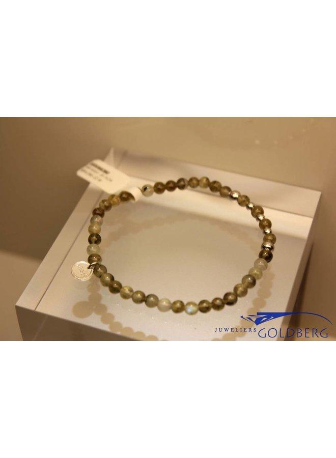 MAS bracelet labradorite silver model 2 M