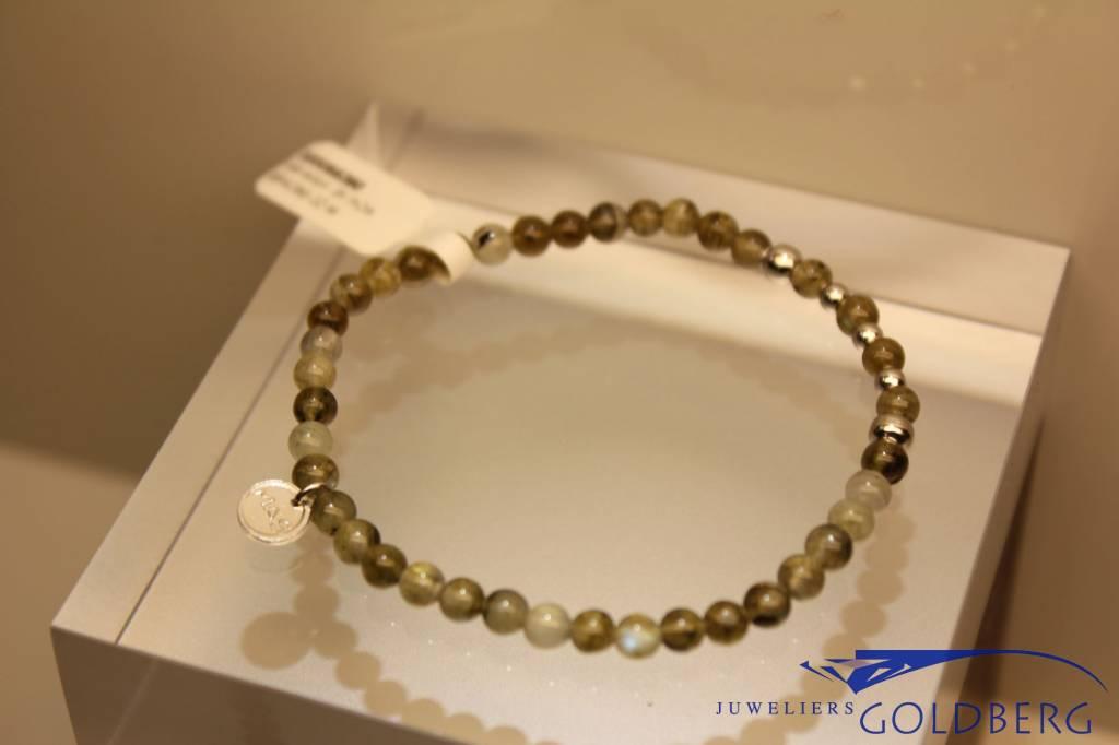 MAS Jewelz MAS armbandje labradoriet zilver model 2 M