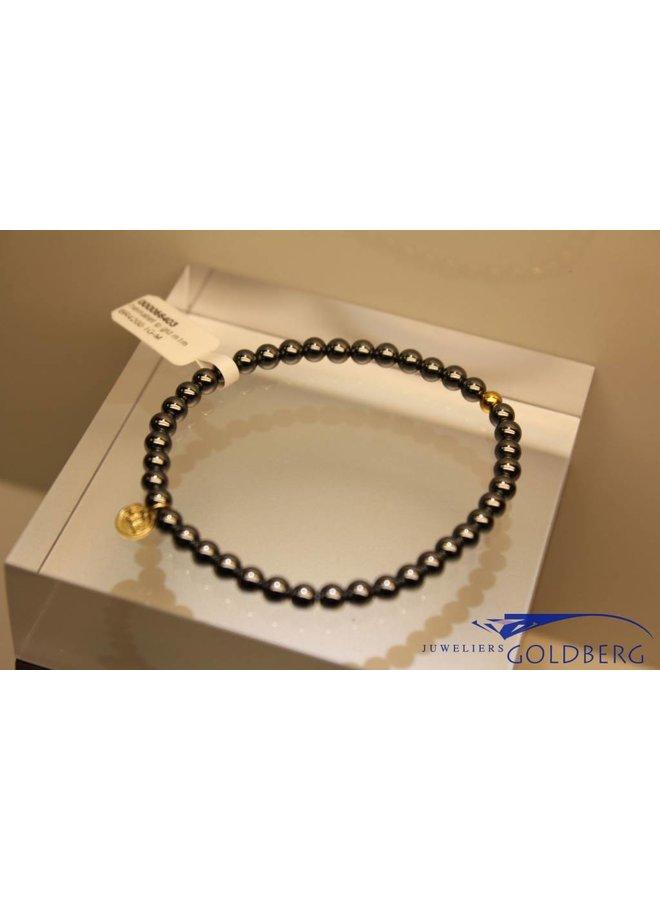 MAS bracelet hematite gold model 1 M