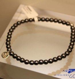 MAS Jewelz MAS bracelet hematite silver model 1 M