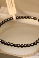 MAS Jewelz MAS bracelet hematite silver model 2 M
