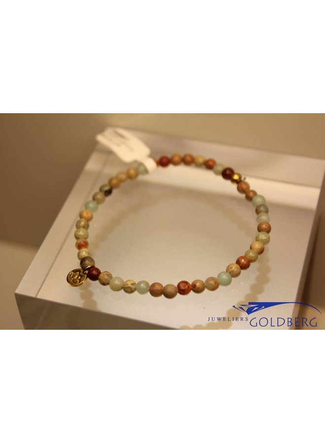 MAS armbandje serpentijn goud model 1 M
