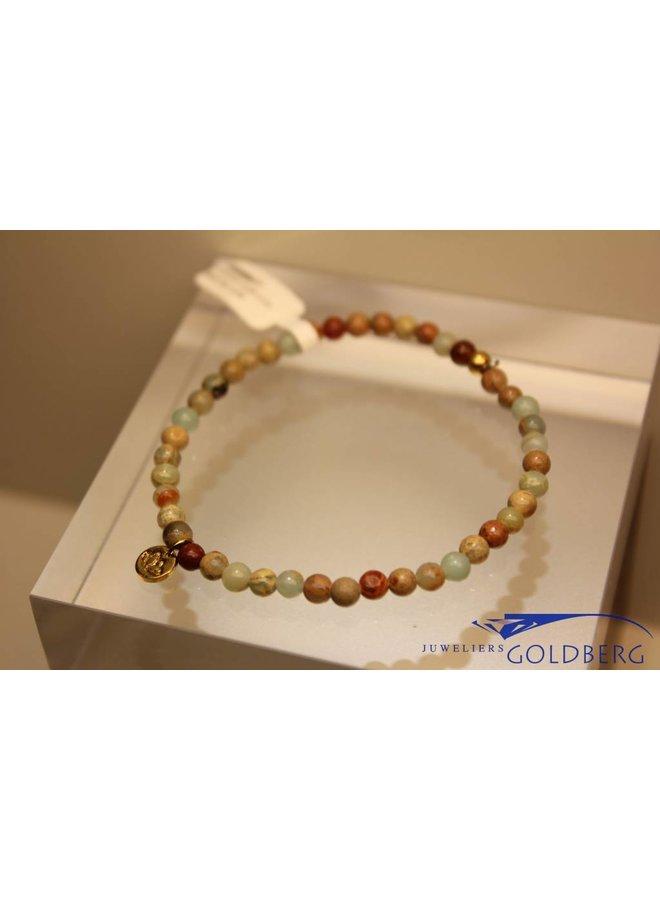 MAS bracelet serpentine gold model 1 M