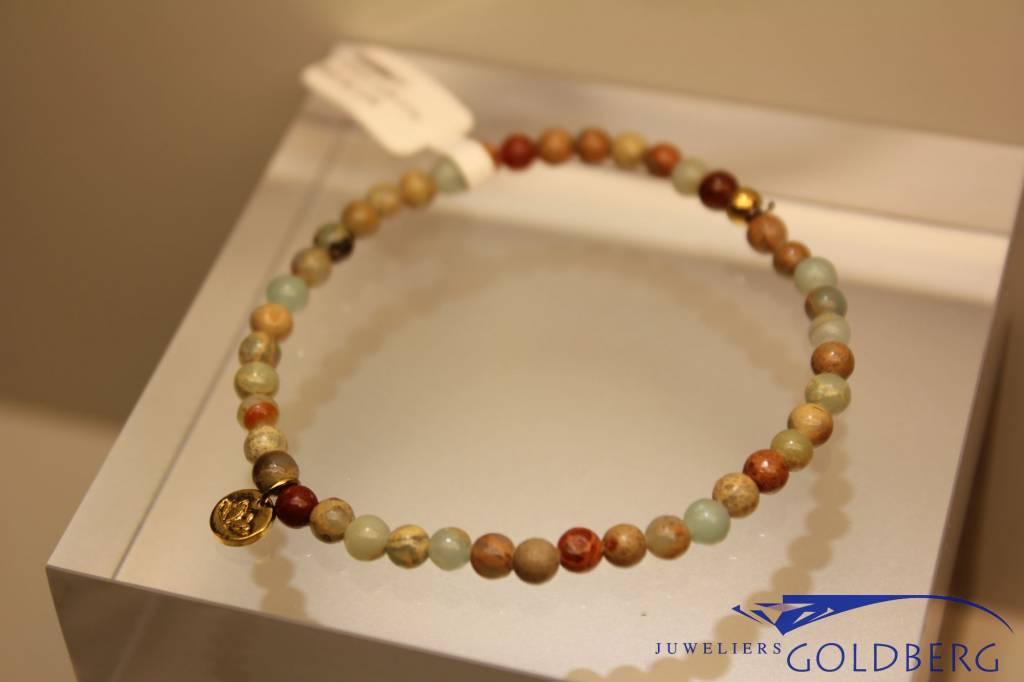 MAS Jewelz MAS armbandje serpentijn goud model 1 M