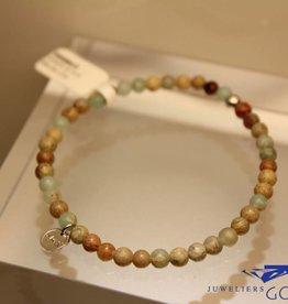 MAS Jewelz MAS bracelet serpentine silver model 1 M