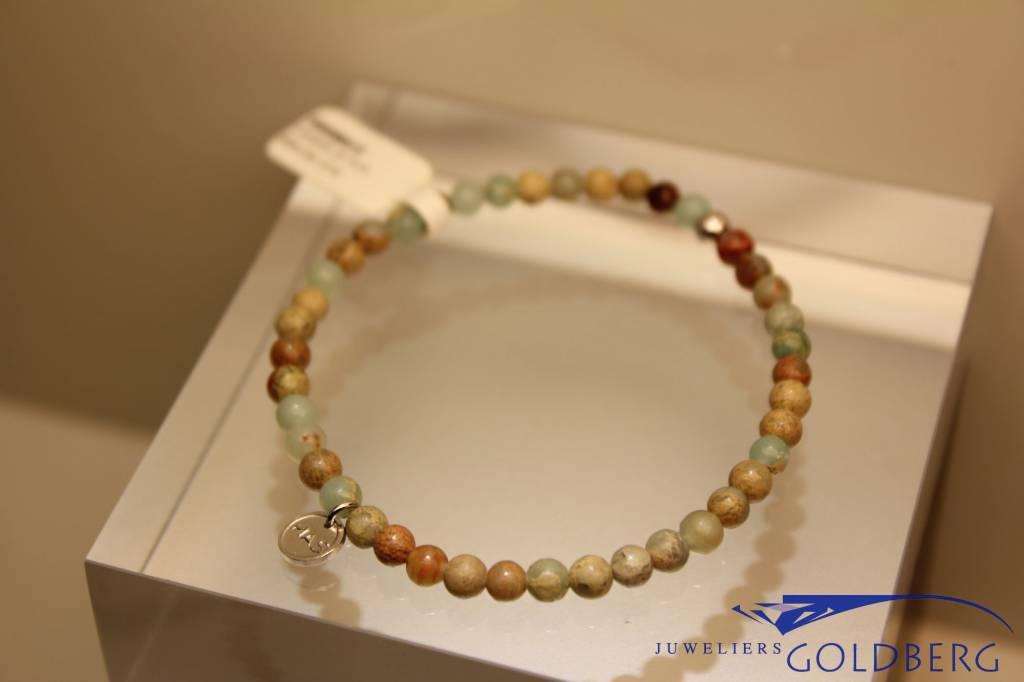 MAS Jewelz MAS armbandje serpentijn zilver model 1 M